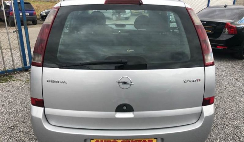 Opel Meriva 1.7 CDTI, 2004. full