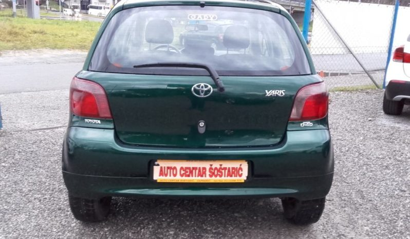 Toyota Yaris 1.4 D, 2002. full