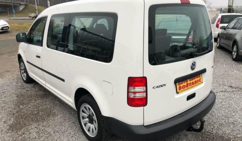 VW Caddy 1,6 TDI, 2012- 7 sjedala full